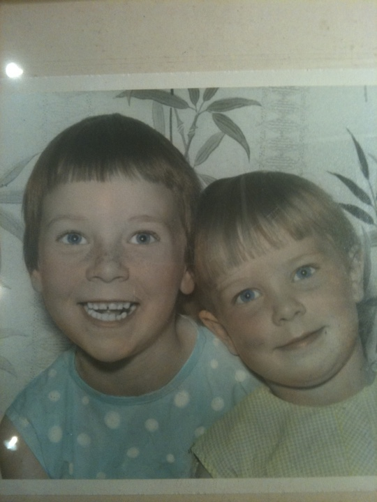 Me and my sister Deb